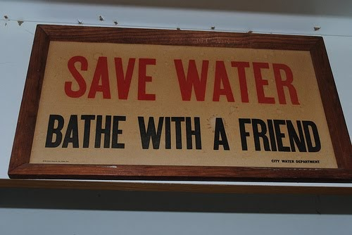 Pure And Noble: Reduce, Reuse, Recycle: Water