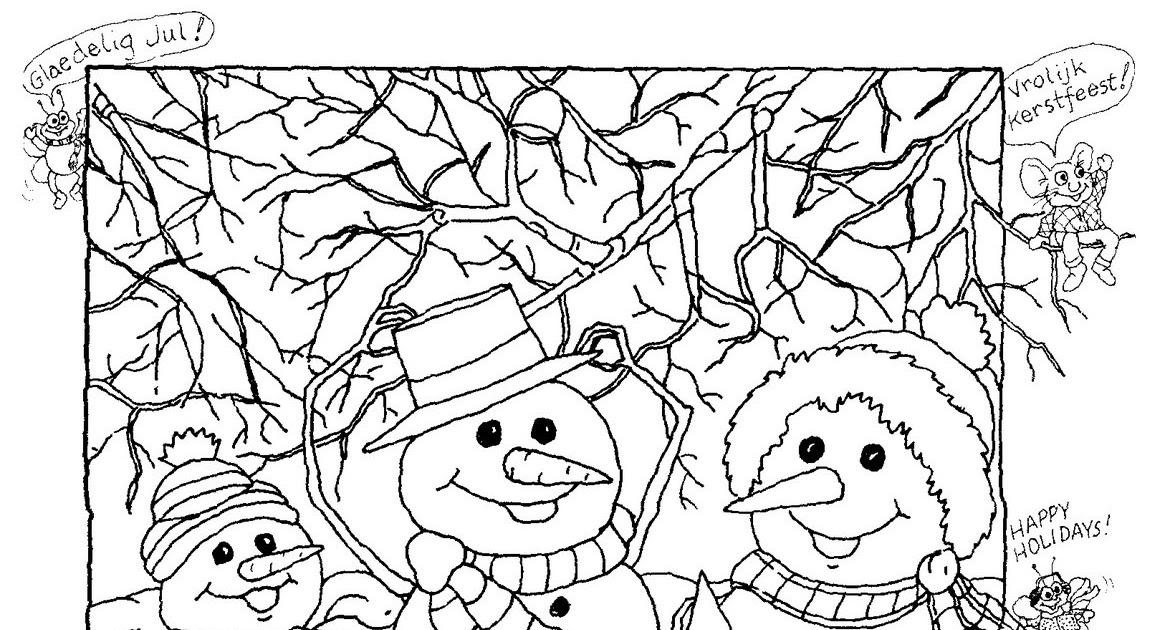 Hidden Pictures Publishing: Snowman Hidden Picture Puzzle