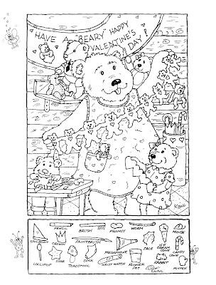 Day Kid Printable Puzzle Valentine Trials Ireland