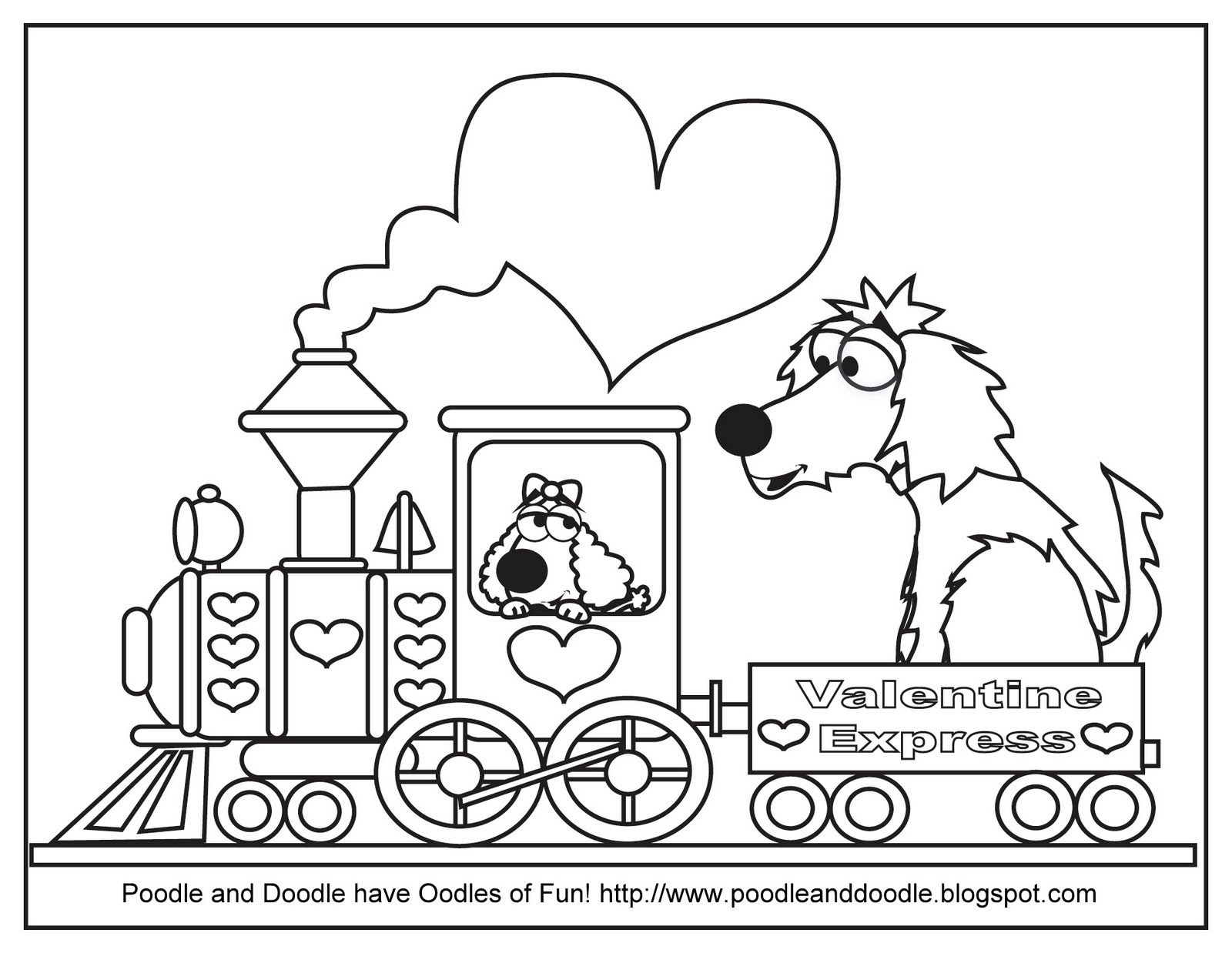 Oodles Of Fun Coloring Pages
