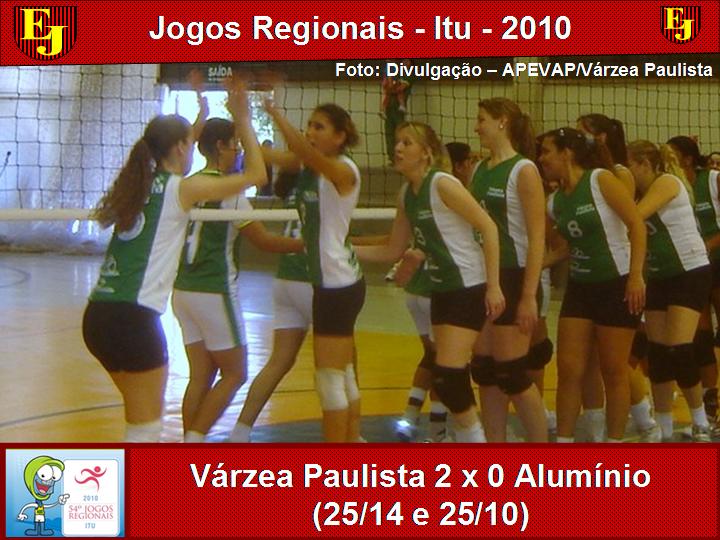4254463778 Jogos Regionais de Itu  Vôlei feminino de Várzea Paulista vence partida contra  Alumínio e se classifica em primeiro lugar de sua chave