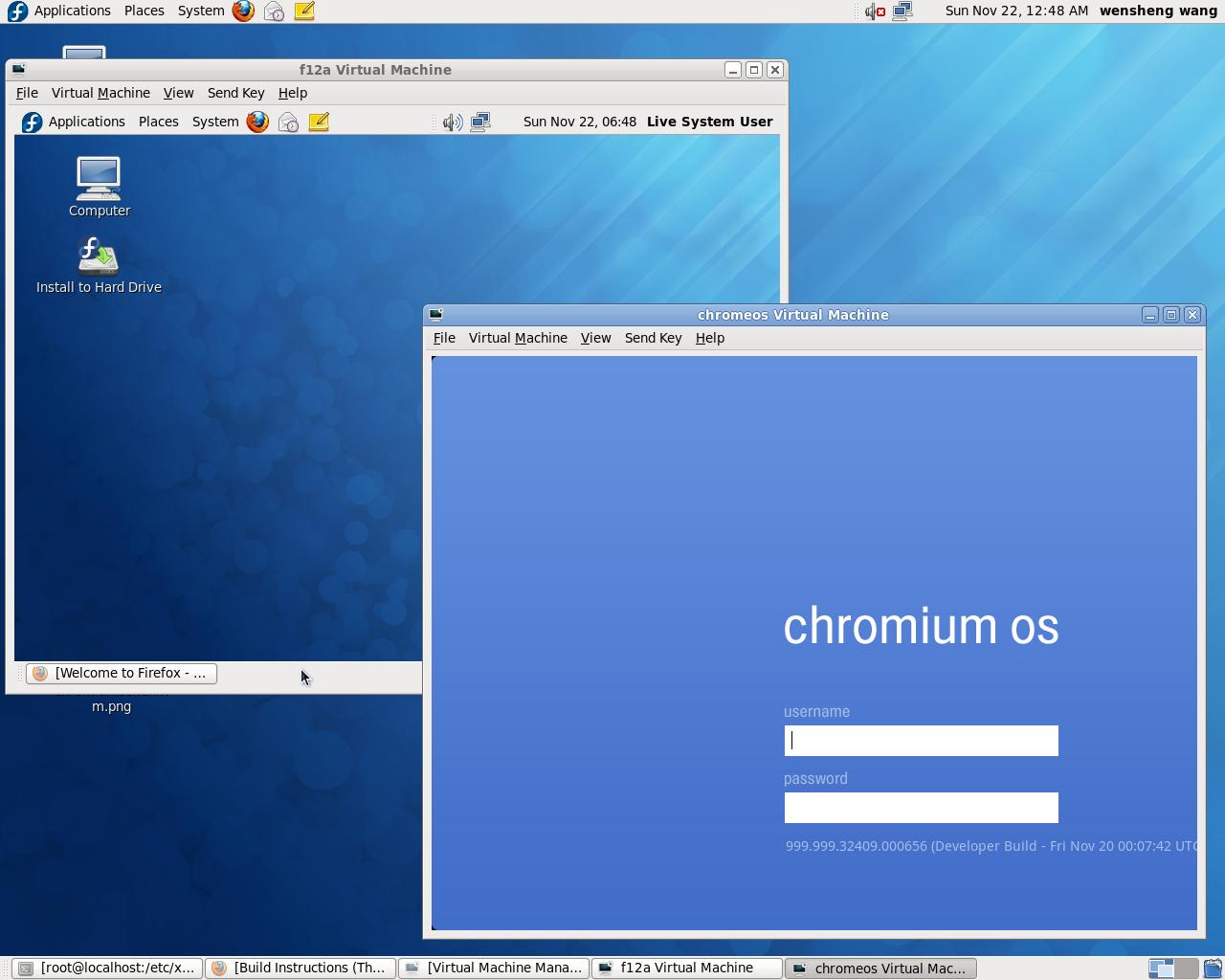 Wensheng Chrome Os On Xen Hvm