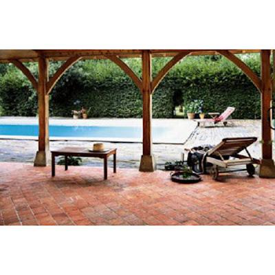 d co r seau travaux la terrasse en carreaux de terre. Black Bedroom Furniture Sets. Home Design Ideas