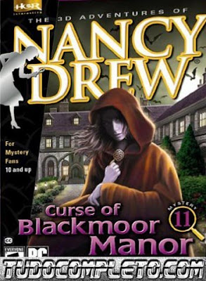 Nancy Drew: Curse of Blackmoor Manor (PC) ISO Download Completo