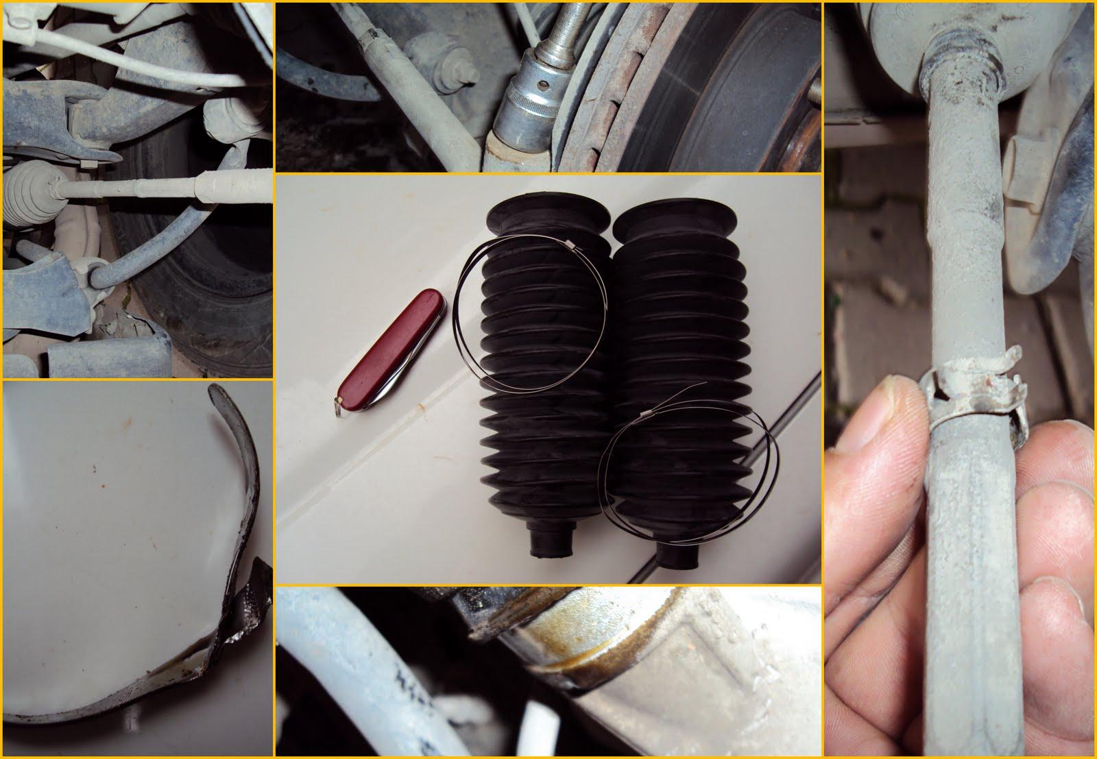 Fatih S Weblog Diy Subaru Forester Steering Rack Boot
