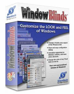 WindowBlinds 6.10.55 + 100 Temas (Skins)