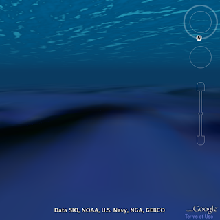 Ocean in the Google Earth Plugin