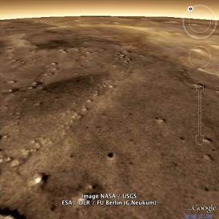Mars in the Google Earth Plugin