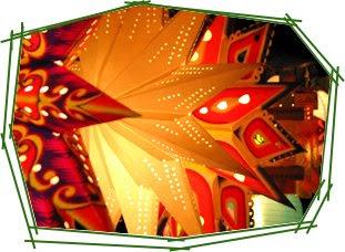 DIY: Homemade Paper Christmas Star Lanterns   IndianTies