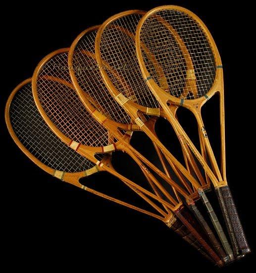 55bf043ee procoleccionismo: Una colección de raquetas de tenis