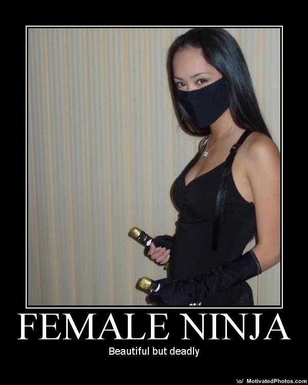 Female ninjas 3 bondage