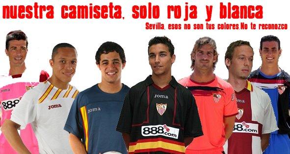 solo rojiblancos  Las equipaciones del Sevilla 2013 14 a6fafb7135b06