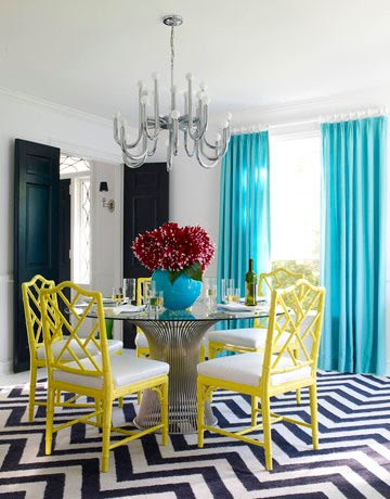 marvellous turquoise yellow living room | Turquoise | Emily Ann Interiors