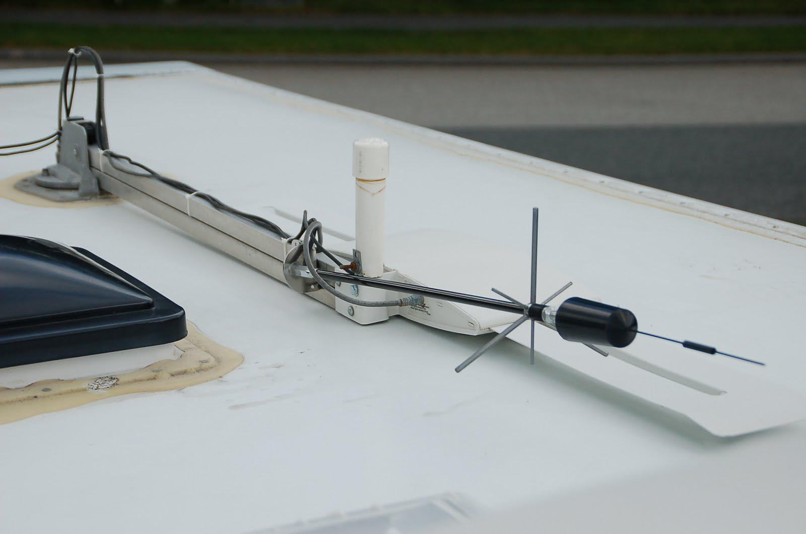 The Lazy Daze Companion Roof Antennas