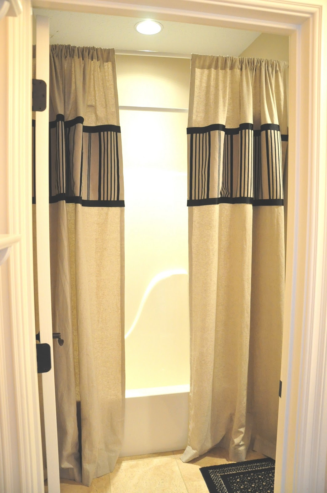 curtain window shower height curtains drapes rod images