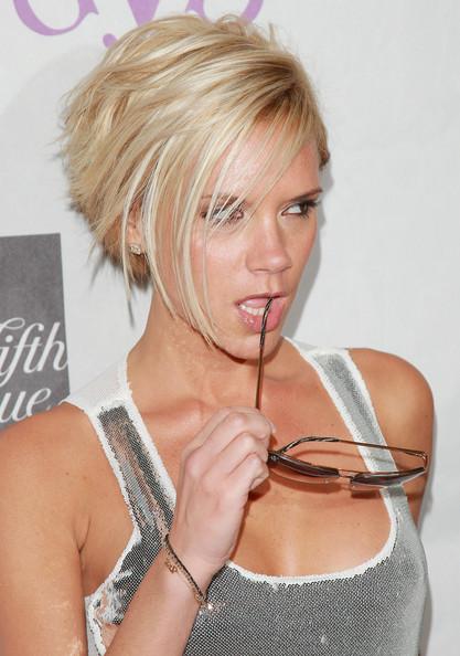 Best short women haircuts 2011: Victoria Beckham 2010 Edgy ...