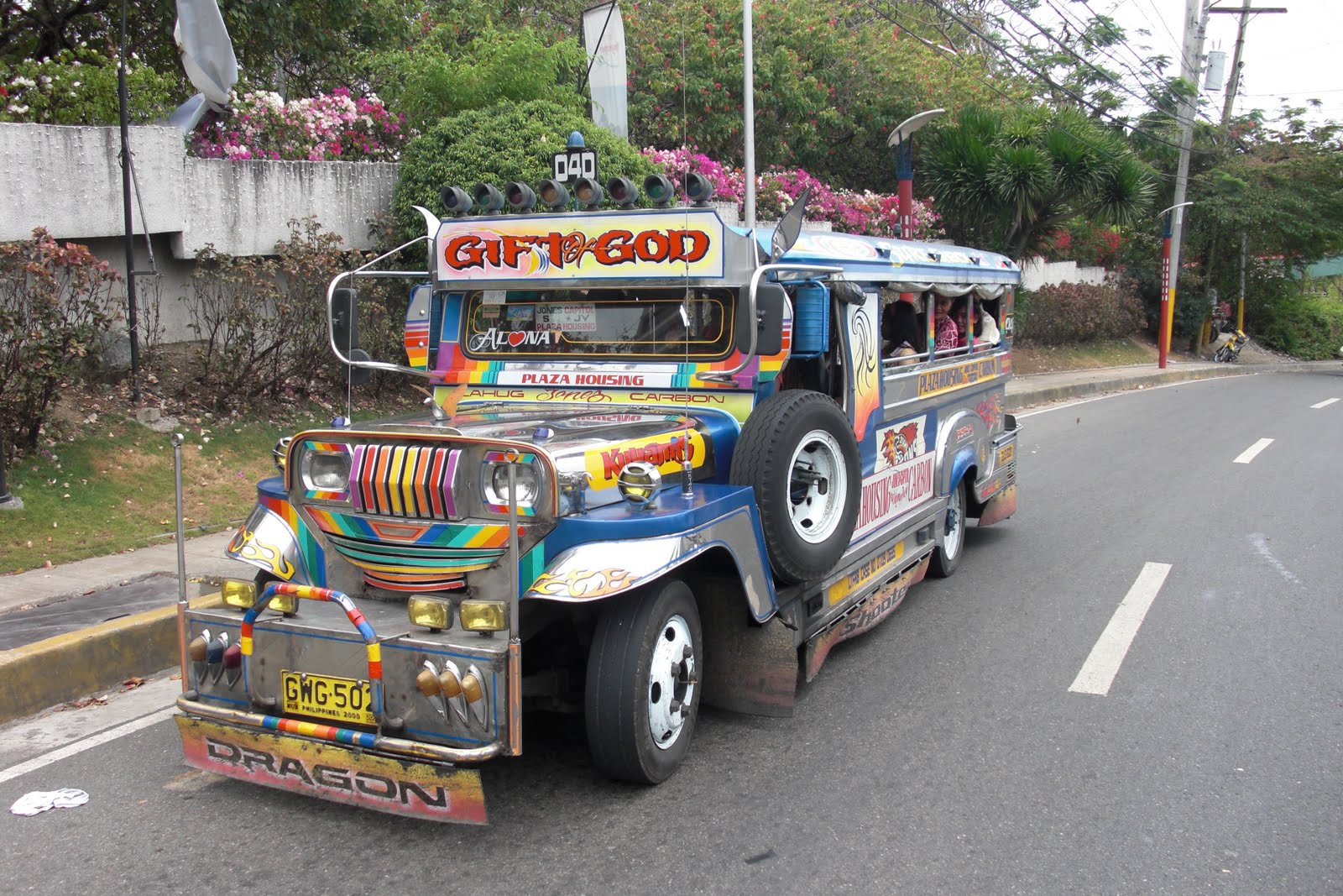 Subaru Salt Lake City >> Our Mission to the Philippines: Sunday Jeepnee ride home ...