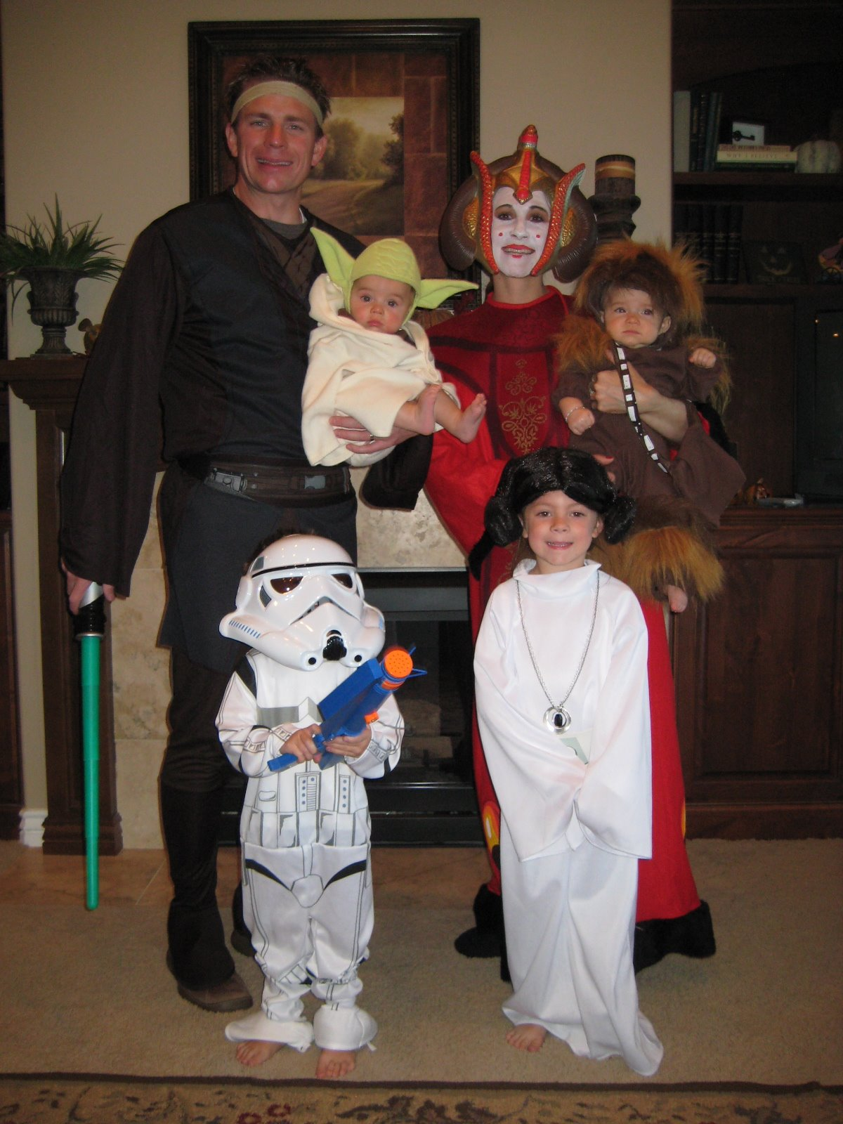 Family Themed Halloween Costumes  sc 1 st  Sew Darn Cute & Sew Darn Cute: Family Themed Halloween Costumes