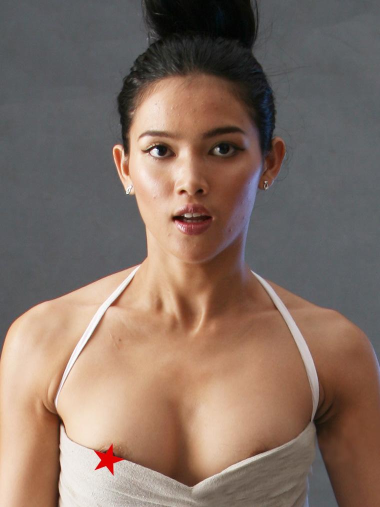 Variant Myanmar actress naked nipple