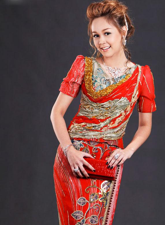 Fashion Myanmar Model Girl Photo Myanmar Model Myanmar -9957