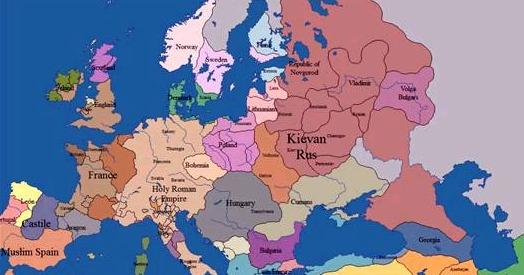 TratoHecho.com: Europa:10 siglos de historia en 5 minutos (video)