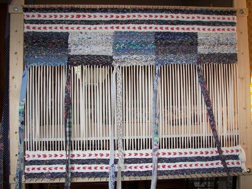 Chantal S Studio Entre Deux Mers Twined Rag Rug Tapis
