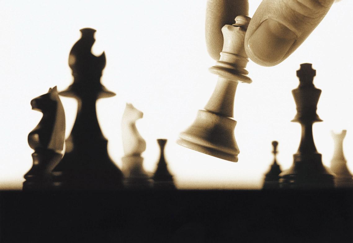 It sort of is like chess, isn't it?