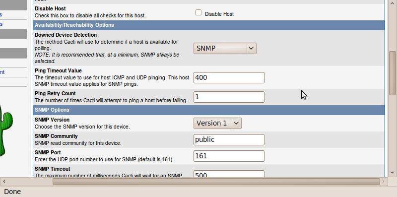 Instalasi sistem monitoring dengan cacti pada ubuntu for Mikrotik cacti template