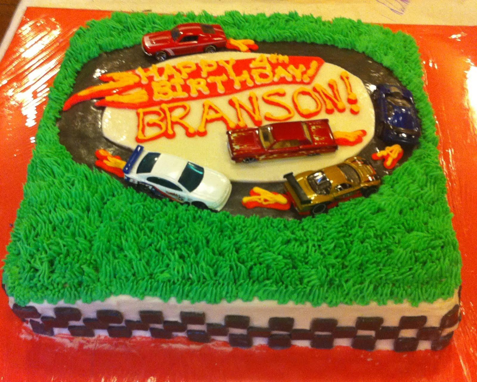 Hot Wheels Th Birthday Cake
