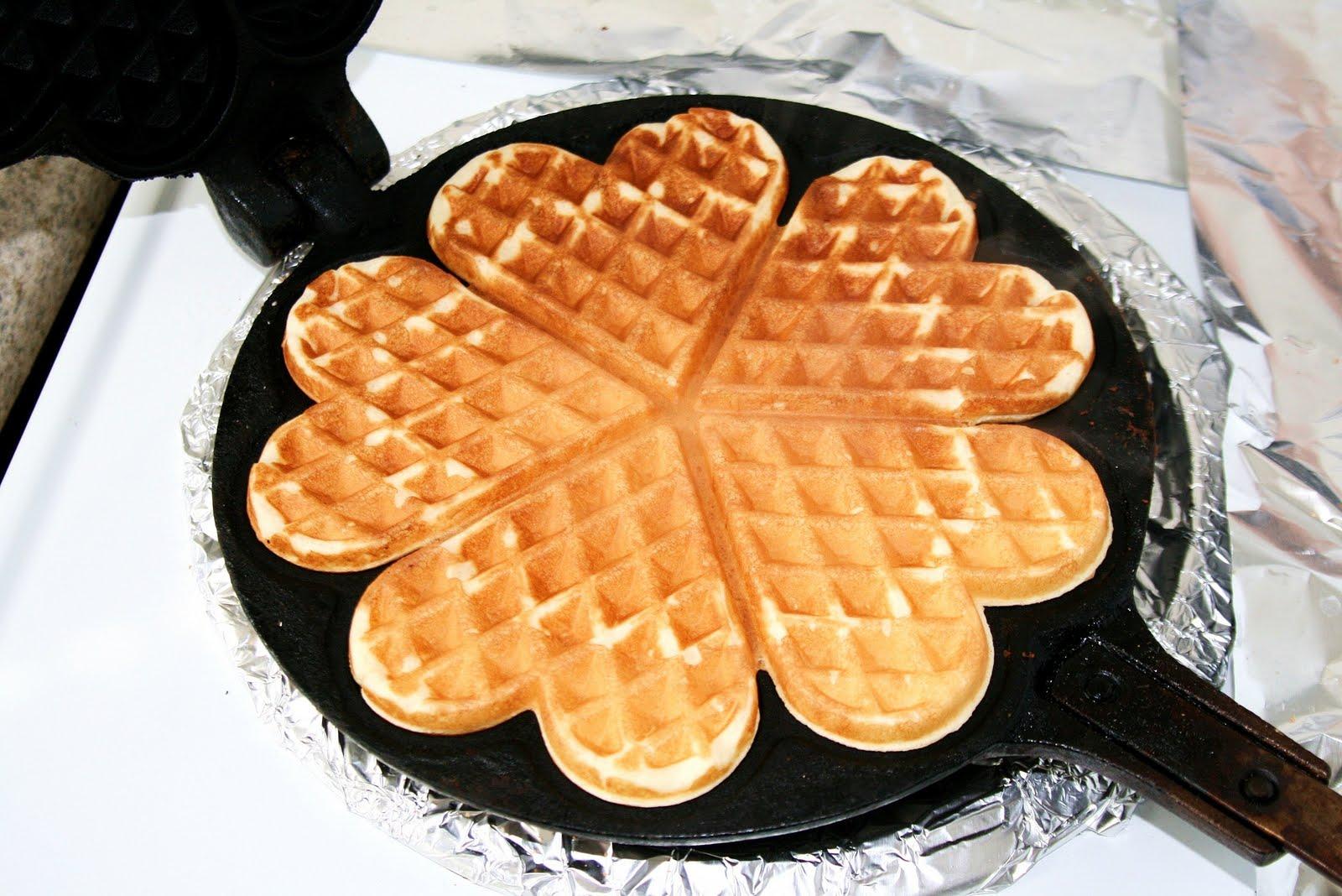 Campfire Maker Waffle Iron Cast