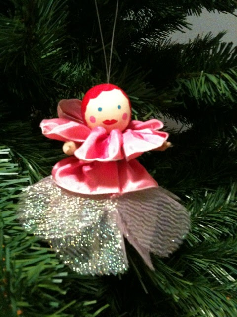 Fairy Christmas Ornaments.Lovin Livin Free Diy Little Girl Angel Or Fairy