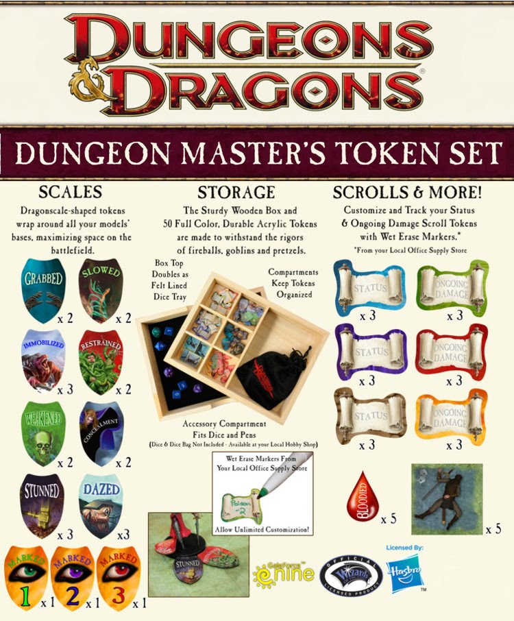 Geekerati: Gale Force 9 Official D&D Maps and Token Sets