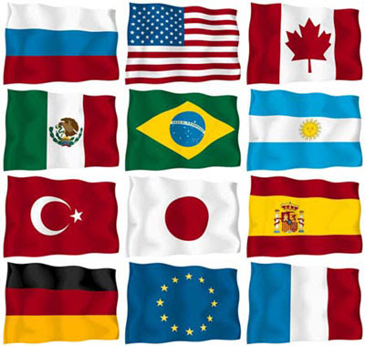 Flags of the World Clipart 020111» Vector Clip Art - Free ...