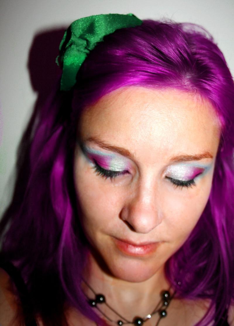 hårfarge lilla