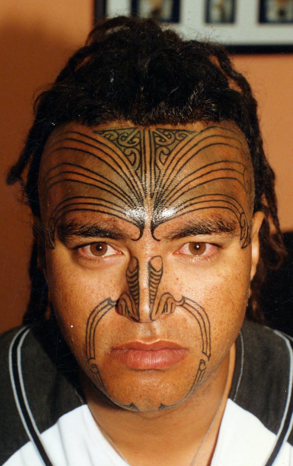 Maori Moko Tattoos: MAORI POLYNESIAN TATTOO: Moko