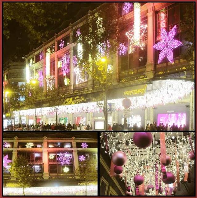 Paris Christmas Decorations: Peter's Paris: Christmas Decorations