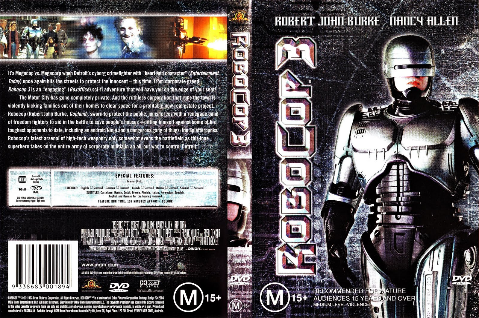 Robocop : DVD Collection | My Covers Collection