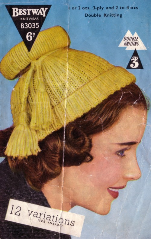 12 Different Eyeliner Tutorials To Switch Up Your Look: Knit For Victory: 12 Different 1950s Hats To Knit