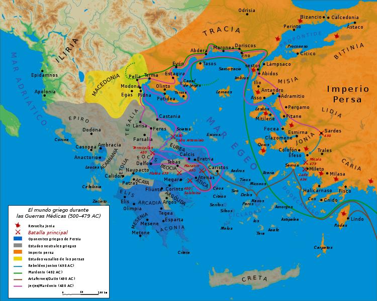 Guerras medicas historia universal for Alexander isola