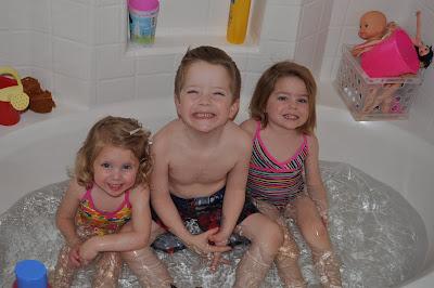 Living For Garrett Bathing Suit Baths