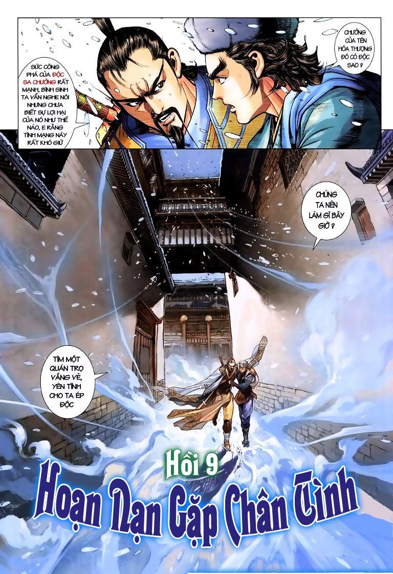 Anh Hùng Xạ Điêu anh hùng xạ đêu chap 9 trang 3