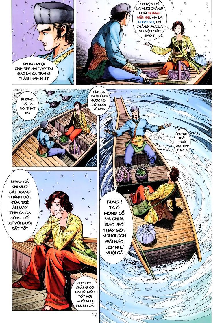 Anh Hùng Xạ Điêu anh hùng xạ đêu chap 9 trang 17