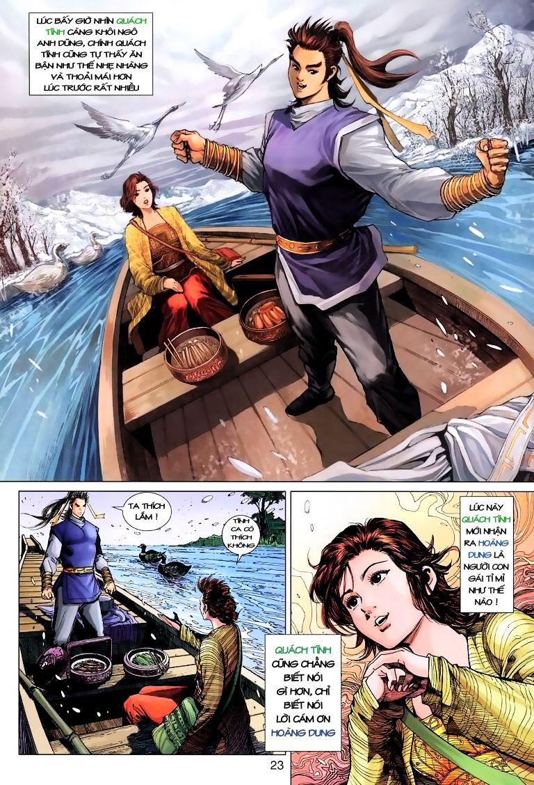 Anh Hùng Xạ Điêu anh hùng xạ đêu chap 9 trang 23