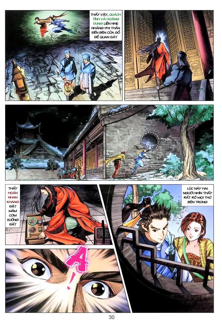 Anh Hùng Xạ Điêu anh hùng xạ đêu chap 9 trang 30