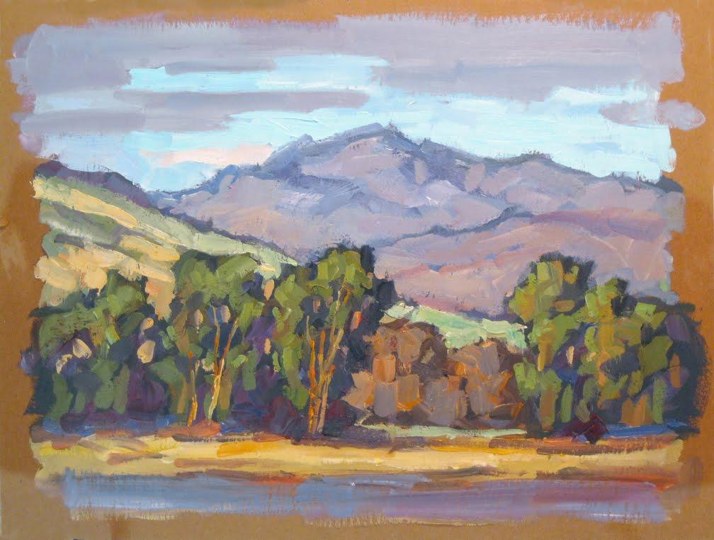 Painterly Style Acrylic Paintings