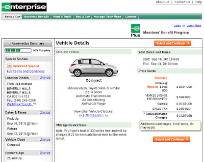 Enterprise Rent A Car France Contact
