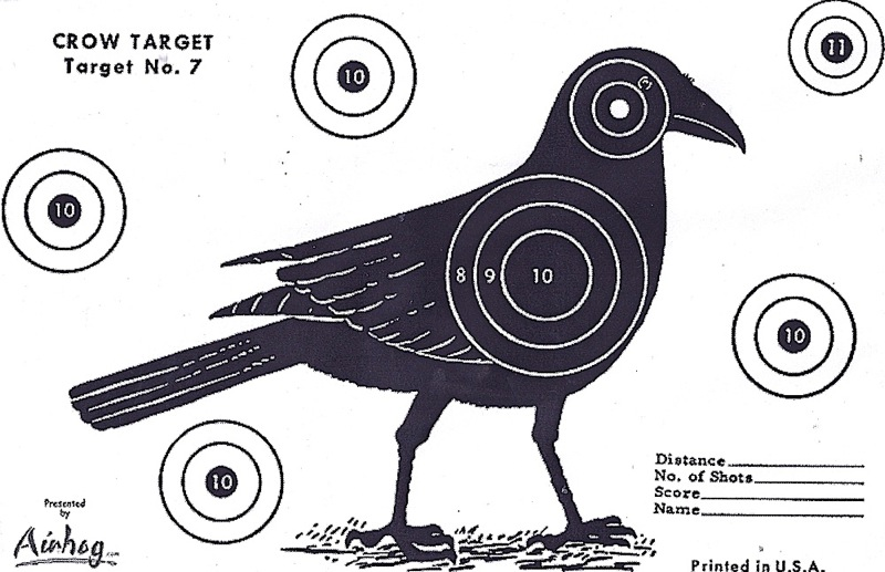 3 by the Fire: Crow Target