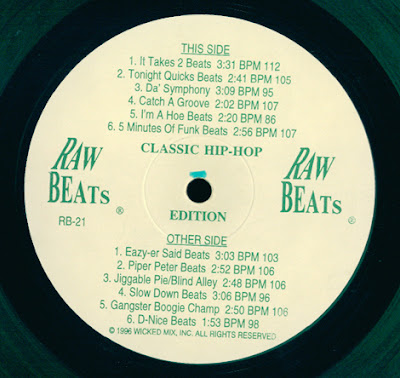 It's Coming Out Of Your Speaker: Raw Beats 21 (Classic Hip-Hop Edition)