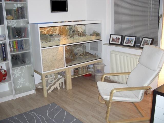 naturnahe hamstergehege 145cm x 55cm doppelstock eb f r robo flynn. Black Bedroom Furniture Sets. Home Design Ideas