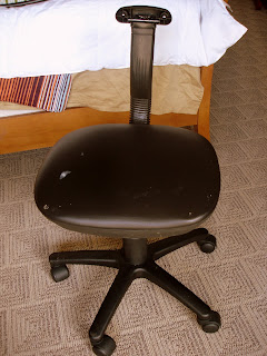 the estate of things chooses Amanda's computer chair